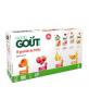 10x120g Gourdes Pack Multifruits BIO - 4m+